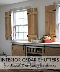 diy interior window shutters. Plain Window How To Build Totally Functional Interior Cedar Shutters Using Readily  Available Supplies Intended Diy Window