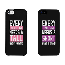 iphone 6 phone cases. amazon.com: 365 printing every short girl and tall black matching best friends phone cases christmas gift for bff: cell phones \u0026 accessories iphone 6