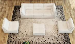 modern white faux leather sectional modular sofa special order soflex san go special order product