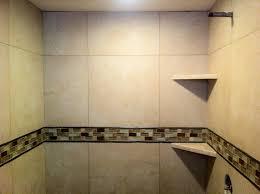 tile mosaic wall decor glass accent shower bath