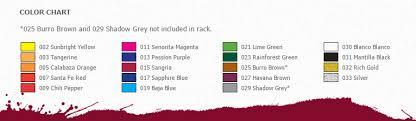 Pinata Ink Color Chart Pinata Alcohol Ink Color Chart Shades Of Clay