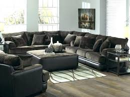u shaped sectional with chaise exotic modern black leather sofa l broken white recliner and cha