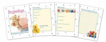 Free Downloadable Printable Pregnancy And Baby Journal Free Stuff