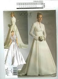Vogue Bridal Patterns Unique Design