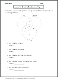 Venn Diagram Sets Worksheet Related Post Diagram Worksheet Grade 4 Fresh Diagrams Sets Math Of 2