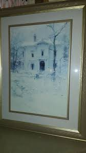 victorian winter 24 by 32 without frame for in federal way wa offerup