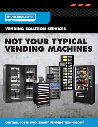 Vending Machine Brochure Extraordinary FSMG Industrial Supply Vending Brochure 48 Page 48