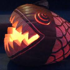 pumpkin drawing with shading. here is another creative way to \u201ccarve\u201d your pumpkin. simply carve pattern into the side of wall without carving all through. pumpkin drawing with shading