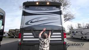 2016 newmar canyon star 3921 toy hauler cl a motorhome guaranty