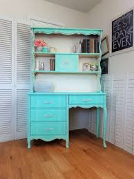turquoise bedroom furniture. Turquoise Shabby Chic French Provincial Desk \u0026 Hutch - Vintage Girls Bedroom Furniture