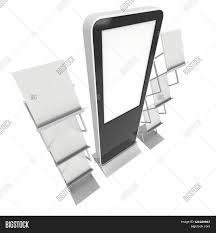 Magazine Holder Template LCD Display Stand Magazine Rack Image Photo Bigstock 92