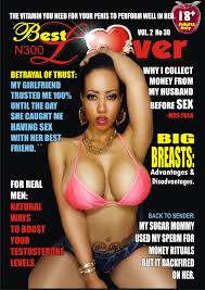 BEST LOVER MAGAZINE MARCH 2017 EDITION JERRY LARGE