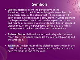 hills like white elephants essay theme hills like white elephants a theme analysis essay bartleby