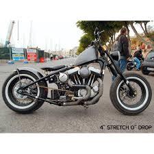 sportster 1982 2003 hardtail frame by david bird custom