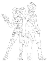 Harley quinn coloring pages are images with the popular character who is familiar to us thanks to a series of comic books, cartoons, movies and video games with her participation. Pin On Coloring Pages