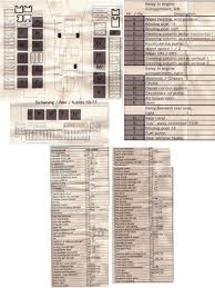 fuse location chart for 2004 s55 amg fuse chart for 2007 gl450 full size image