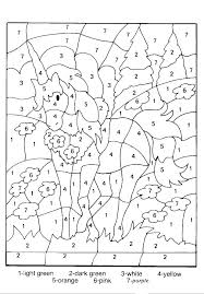 free printable color by number coloring pages numbers for preschool thanksgiving number coloring pages hard color