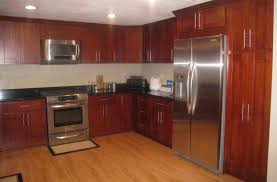 Red Birch Cabinets Kitchen Cheap Simple Stained Cabinets White Shaker Kitchen Cabinets