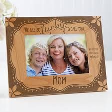 personalized wood frame lucky to call you