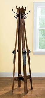 Old Coat Rack Old Coat Rack Made From Skis Things Racks Daniioliver 86