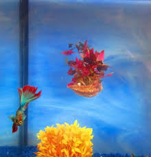 Betta Art Decorative Fish Bowl Aquarium Decor aftcra 32