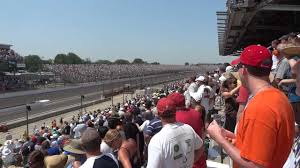 Indianapolis 500 Start Of Race 2012 From Tower Terrace At Pit Entrance