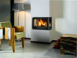 3 sided wood stove heting 3 sided glass wood burning fireplace