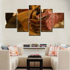 artwork for the office. 5 Pieces Artwork Ceramics Photo Canvas Wall Painting Large HD Print Art For Office Living Room Decor Best Gift Dropshipping-in \u0026 Calligraphy The
