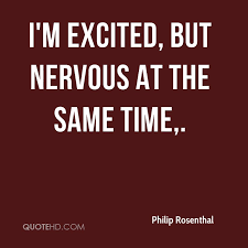 Nervous Quotes Classy Philip Rosenthal Quotes QuoteHD