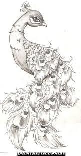 Пин от пользователя Briana Wade на доске Tattoos | Тату с павлином, Павлин,  Рисунки