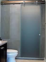 barn style shower door