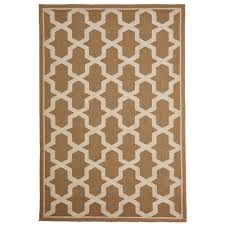 napoli global geo indoor outdoor rug neutral