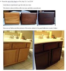staining bathroom cabinets staining oak cabinets an espresso color tutorial staining bathroom cabinets diy java gel