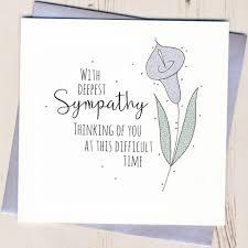 Glittered Sympathy Card