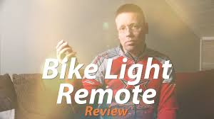 Wireless <b>remote</b> for <b>bicycle light</b> - YouTube