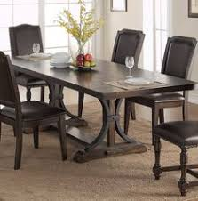 keshia pedestal dining table with leaves