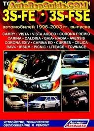 Download free - TOYOTA 3S-FE, 3S-FSE 1996-2003 repair manual ...