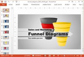 Funnel Powerpoint Template Free Animated Funnel Diagrams Powerpoint Template