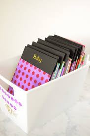 diy dollar greeting card file organize your greeting cards and always have a card