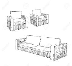 Image Vector Doodle Armchair Set For Interior Design Furniture Sketch Stock Vector 54562424 123rfcom Doodle Armchair Set For Interior Design Furniture Sketch Royalty