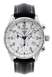 junkers 6684 1 watch men 039 s watch chronographs aviator image is loading junkers 6684 1 watch men 039 s watch