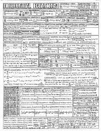 mechanical electrical large size the worlds catalog of ideas diffeial equations formula sheet