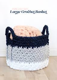 Crochet Laundry Basket Pattern