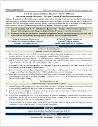 Linear Executive Format Resume Examples Proyectoportal Com