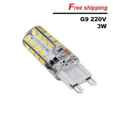 How To Check Christmas Light Bulbs Us 1 1 On Sale G9 Led Corn Lamp Ac220v 3w Smd2835 Led Crystal Silicone Candle Replace 20 40w Halogen Lamps Christmas Light Bulb In Led Bulbs Tubes