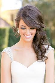 Hair Style Formal curly side swept hairstyle for the bride hair pinterest side 2560 by wearticles.com