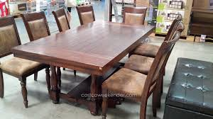 Hillsdale Dining Table Hillsdale Tremonte 9 Piece Dining Set Great For Family Feasts And