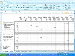 Model Cash Flow Statement Excel Accounting Templates Download Simple ...