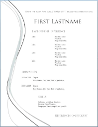 Free Simple Resume Templates Download. Best Of Simple Free Resume ...