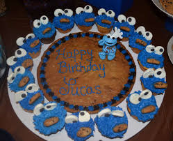 Cookie Monster Birthday Party Ideas Photo 1 Of 29 Catch My Party